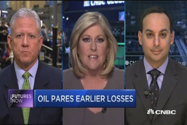 Futures Now: Oil pares earlier losses