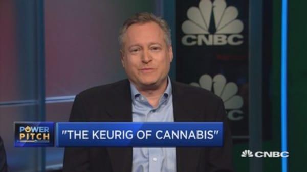 Start-up creates 'the Keurig of marijuana'