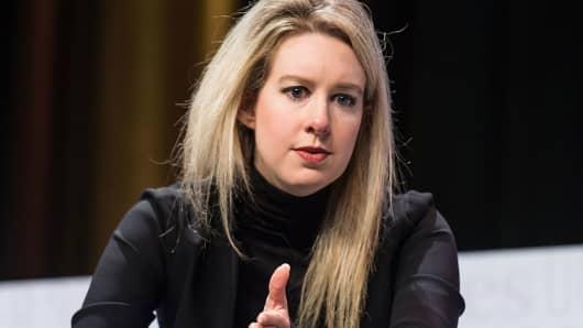 Founder & CEO of Theranos Elizabeth Holmes
