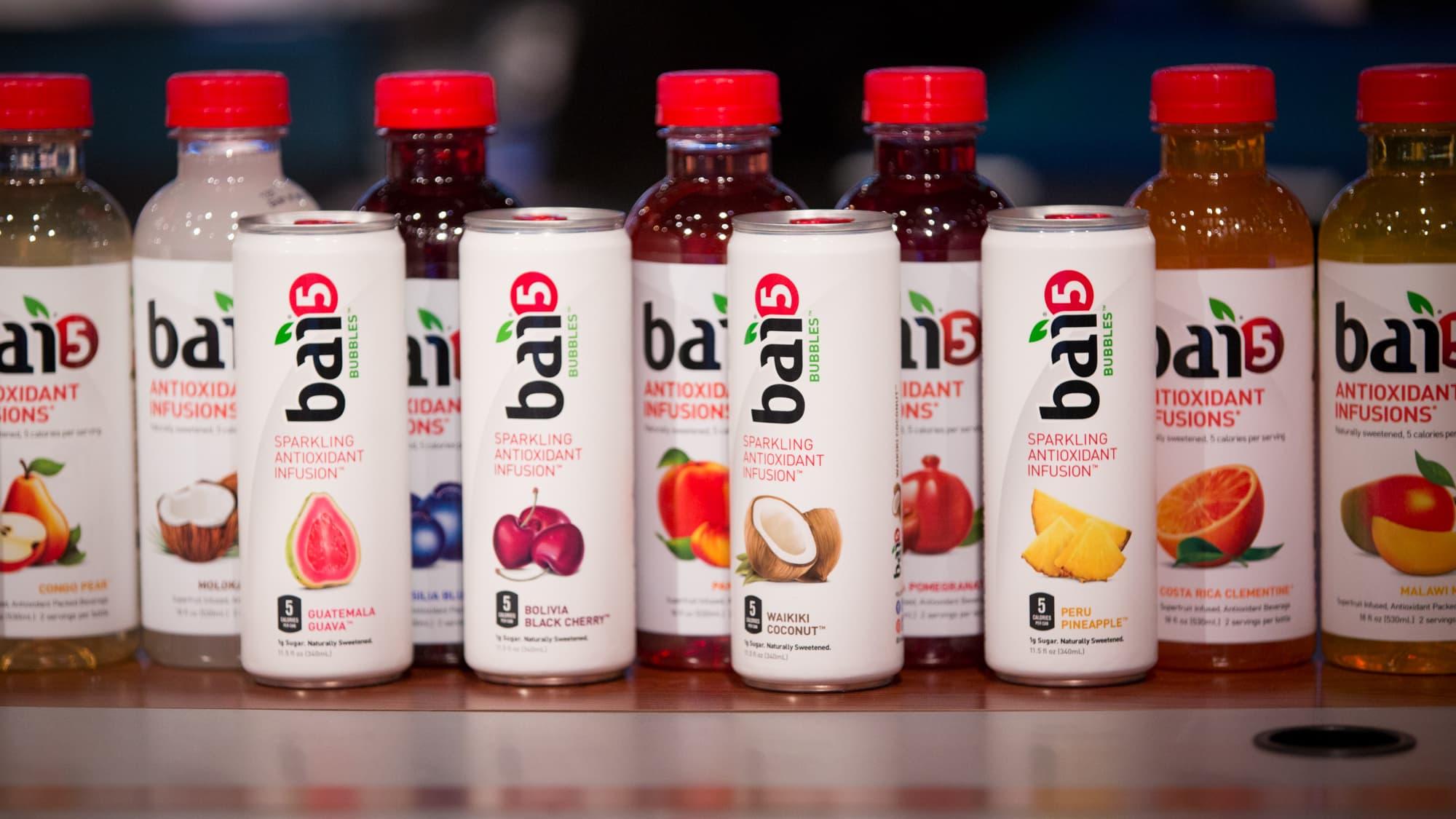 Dr Pepper Snapple Grows Bai Brands Antioxidant Drink