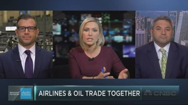 Market mystery: Oil and airlines move together