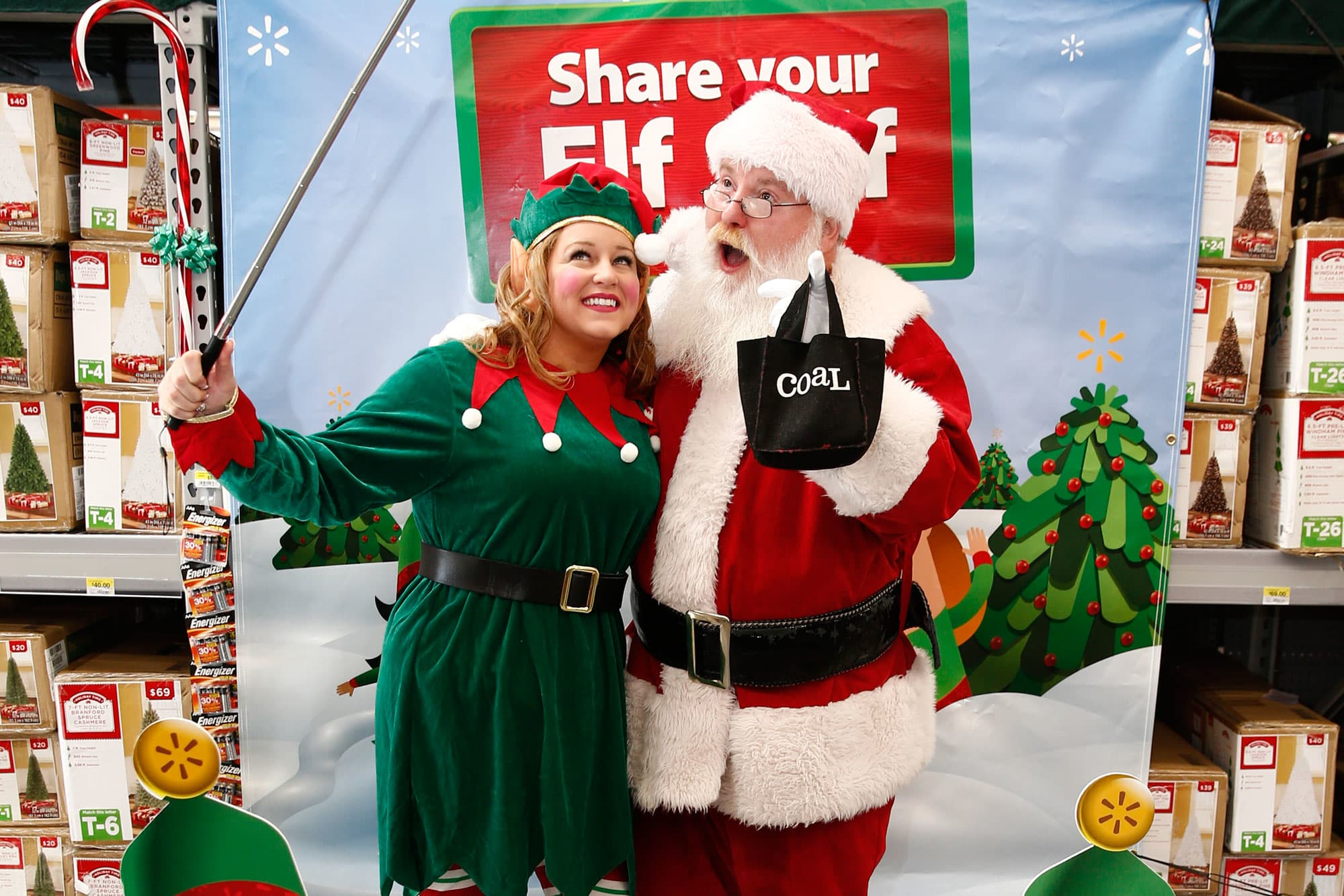 Wal-Mart is bringing in selfie booths and toy demonstrations to ...