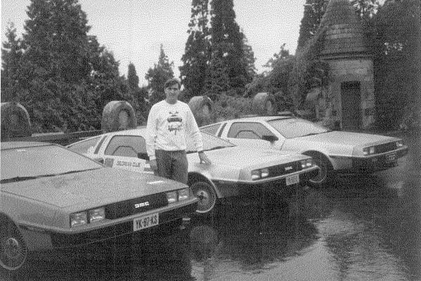 Stephen Wynne has had a passion for DeLoreans since they debuted in 1981.