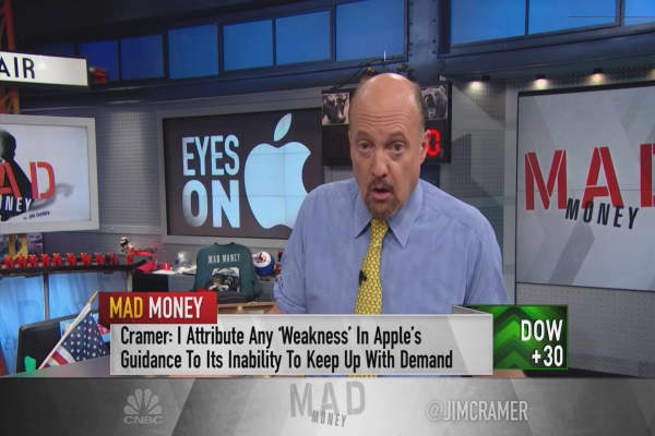 Cramer 'stunned' by analysts lack of respect for Apple CEO Tim Cook