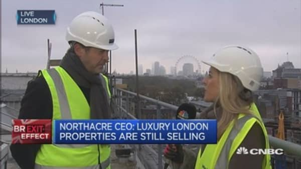 Uncertainty is hitting UK property: Northacre CEO