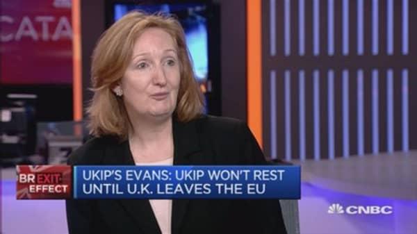 UKIP needs to broaden its appeal among women: Evans