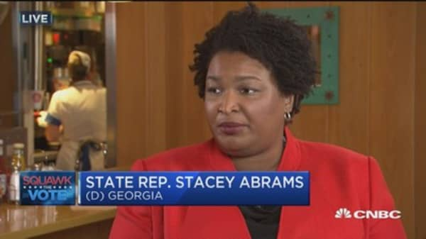 The Peach State still in play: Rep. Stacey Abrams