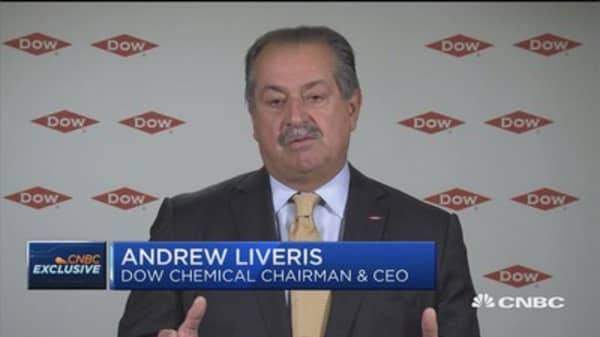 Dow Chemical CEO: A lot of demand in China