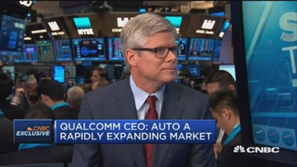 Qualcomm CEO: NXP deal fair for both copmanies