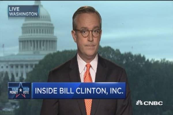 Inside Bill Clinton, Inc.