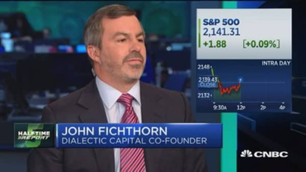 Fichthorn: We're massively short bonds