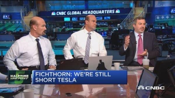 Fichthorn: We're still short Tesla