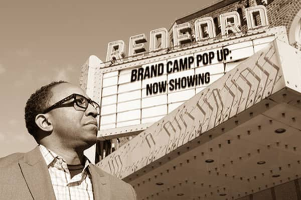 Hajj Flemings, digital brand strategist and CEO of marketing agency Brand Camp University, started Rebrand Detroit with a Knight Cities Challenge grant as a way to revitalize his hometown and provide a boost to Detroit's business community.