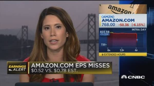 Amazon Q3 EPS misses, revenues beat