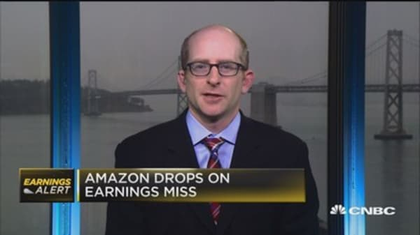 Graham on Amazon: Weakness will be short-lived in stock