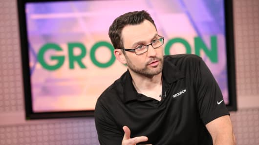 Groupon Grpn Stock Surges On Report Its Seeking A Buyer