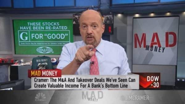 Cramer discovers a massive rotation of money, primed to explode stocks higher