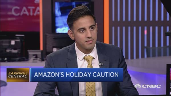 Such high expectations for Amazon right now: Reporter