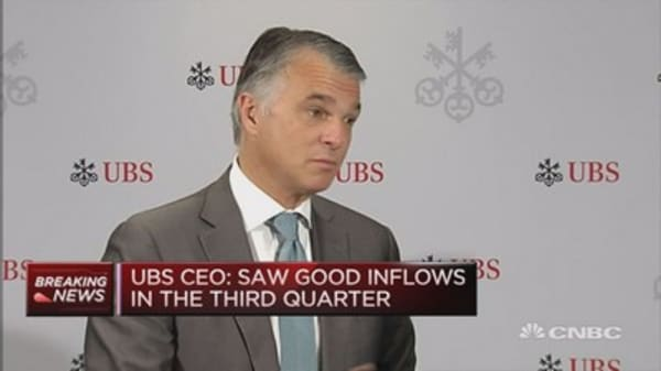 UBS has strong set of results: CEO