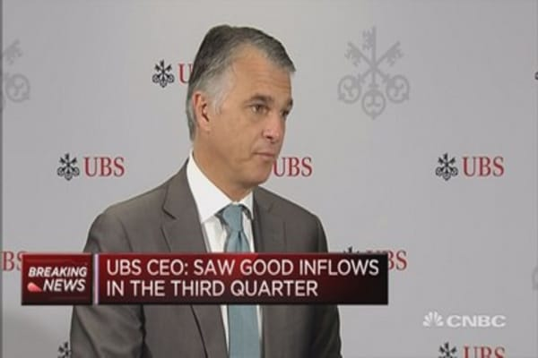 Market conditions likely to get tougher: UBS CEO