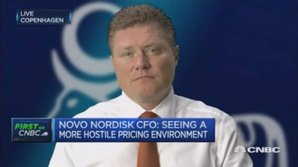 Unlikely Novo Nordisk will become a takeover target: CFO