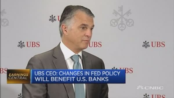 Don't read too much into rhetoric and policy: UBS CEO