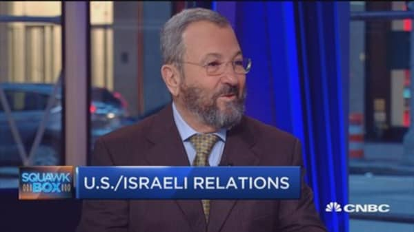 Ehud Barak: Iran deal a bad deal but a done deal