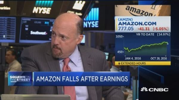 Cramer: Amazon's a buy on Monday