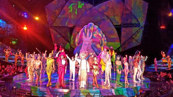 Mystere, a Cirque du Soleil production.