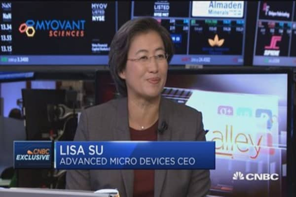 AMD CEO: Multiple-year strategy is key