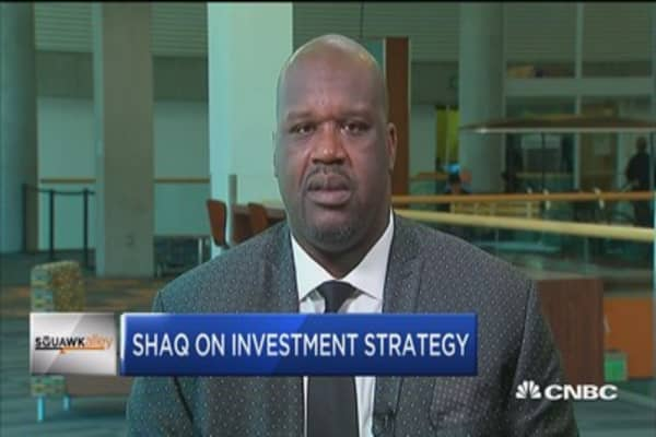 Shaq on investing: If it will change the world, it'll probably work