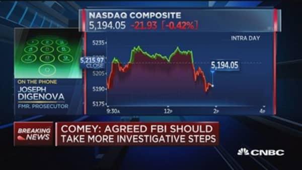 DiGenova: Comey continues to embarass FBI