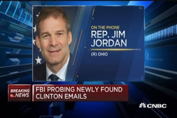 Rep. Jordan on new Clinton emails: Must be something pretty important