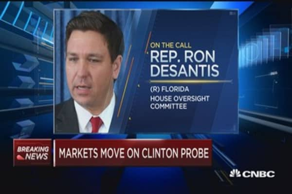 Rep. Desantis: 3 hot-button issues in new Clinton probe