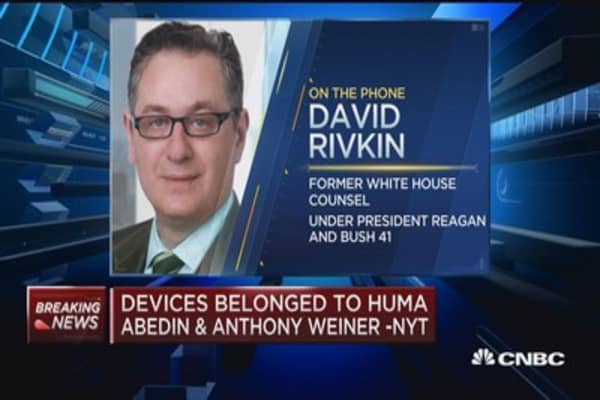 Rivkin on FBI probe: This is a serious development