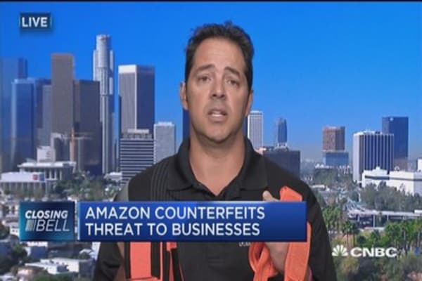 Amazon counterfeits threat to businesses