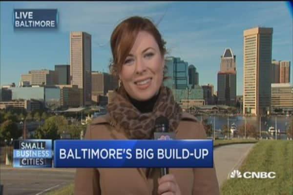 Plank bets big on Baltimore