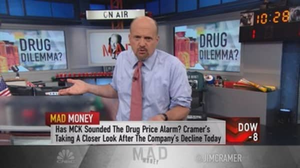 Cramer: The drug wholesale price war has officially begun — steer clear