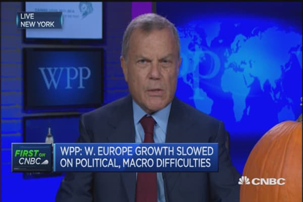 Uncertainty is the enemy of growth: WPP CEO
