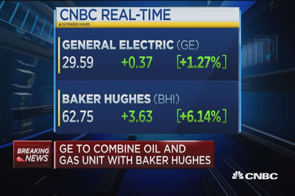 GE to combine oil and gas unit with Baker Hughes