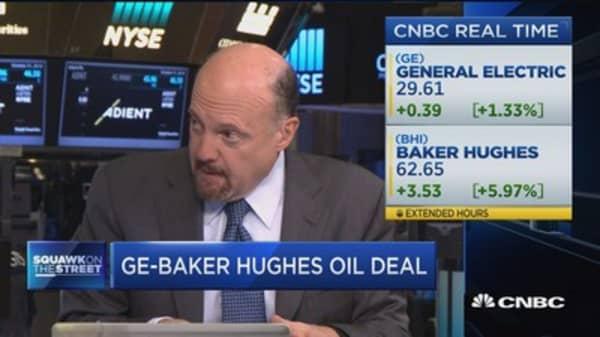 Cramer: GE, Baker Hughes good deal for both