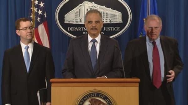 Eric Holder slams FBI Director James Comey