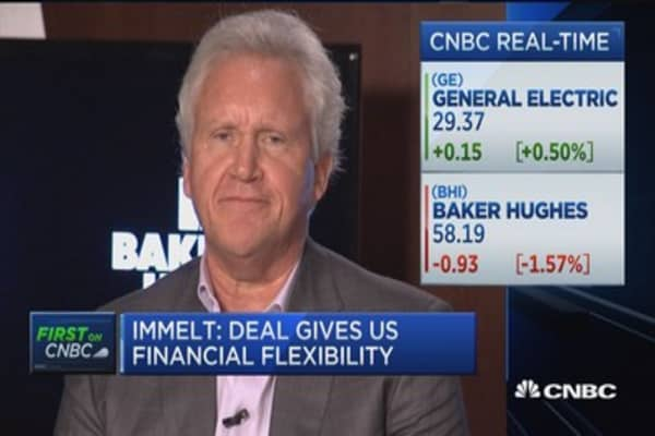 Immelt: Politics does not factor into deal timing