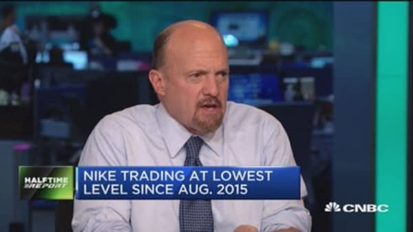 Cramer on Nike: This is a key downgrade, and it's a right one