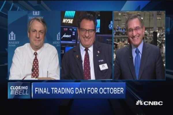 Closing Bell Exchange: Waiting on the sidelines