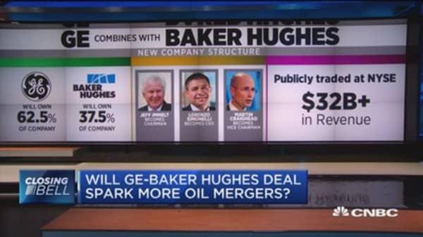 Will GE-Baker Hughes deal spark more oil mergers?