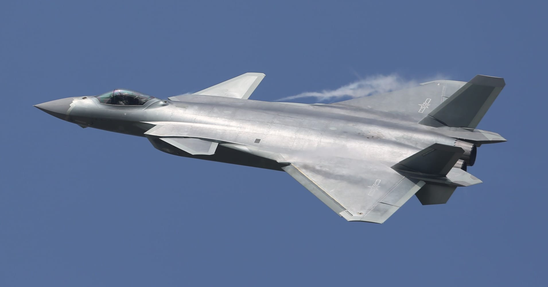 China Debuts J-20 Stealth Jet In Show Of Strength At