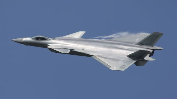 China unveils its J-20 Stealth Fighter