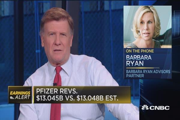 Pfizer posts mixed third quarter