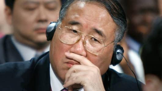Xie Zhenhua, China's top climate envoy.